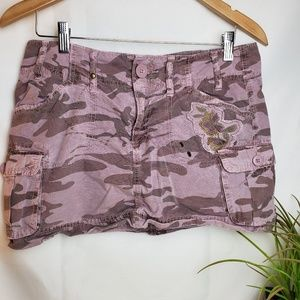 Old Navy  Size 6  Mini Skirt Cargo Pink Camo